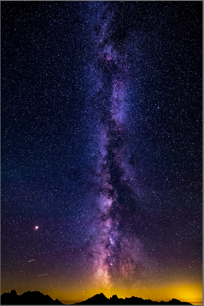 La voie lactée depuis l'Observatoire de Saint Véran 10 Aout 2018.PNG