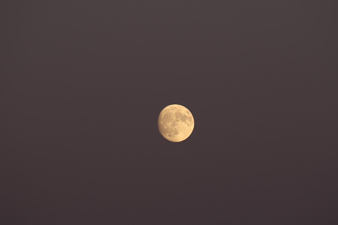 la lune, au soir du 22/10/2018 (50821/822)