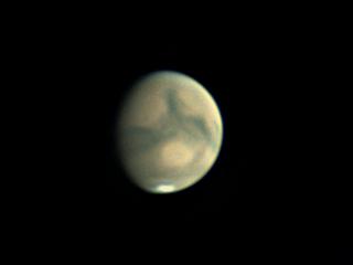 Mars ce soir du 18 octobre 2018 19h23tu