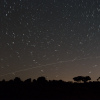 ISS et une étoile filante
