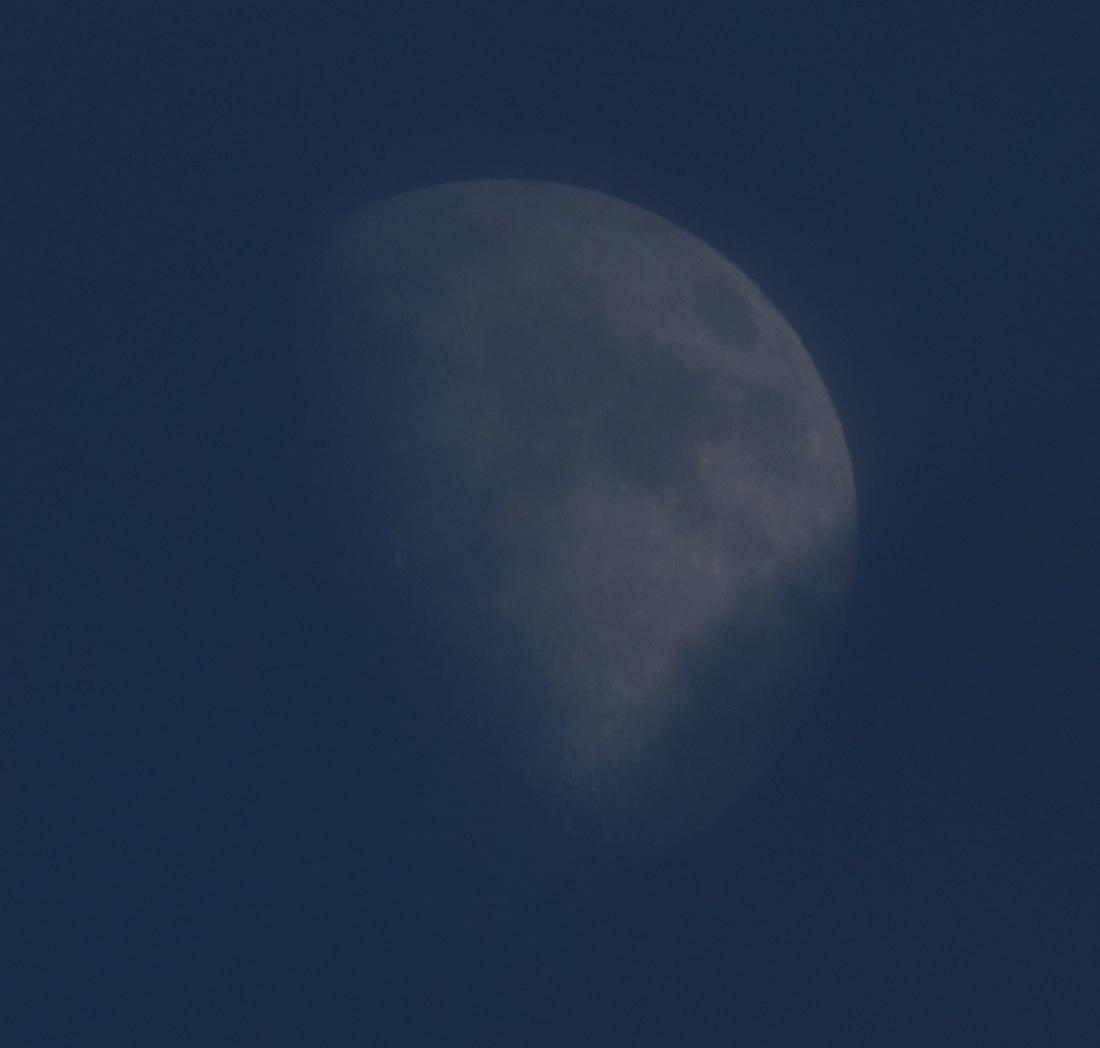 la  lune, au soir du 17/18/et 19/11/2018 (52092/101/130/155/207/239)