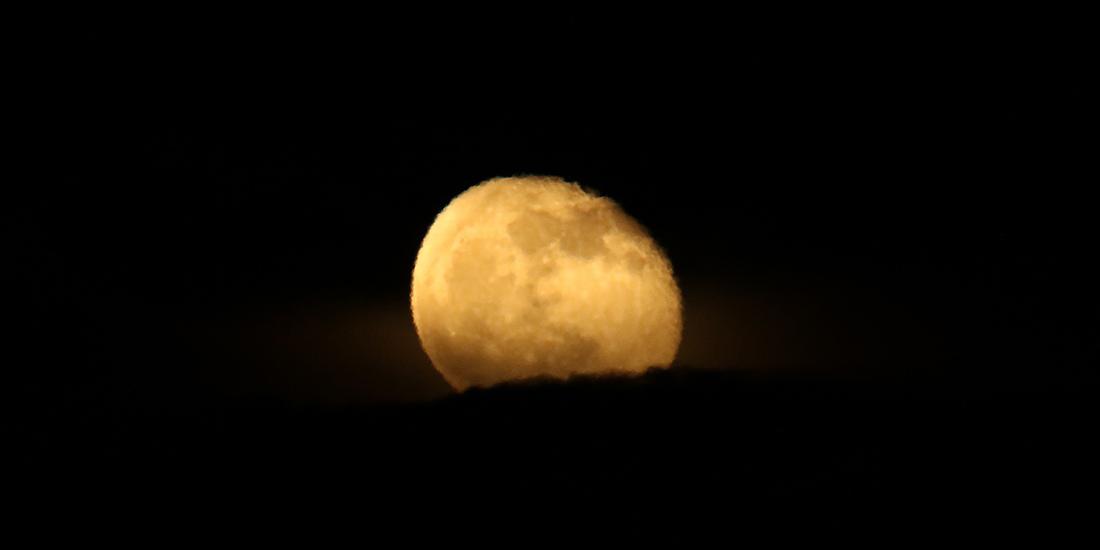 la lune, au soir du  25/11/2018 (52508/519/524/531/626)