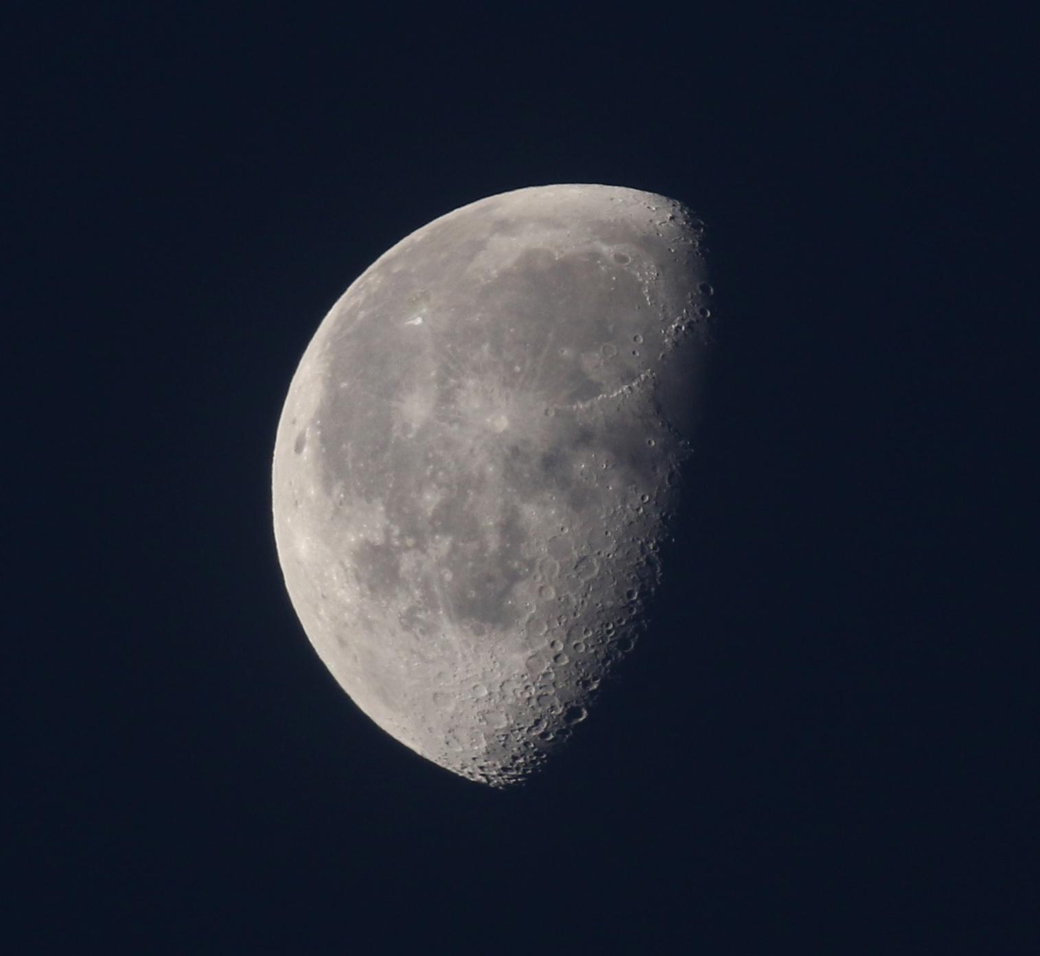 la lune, du 28/10/2018 au 15/11/2018