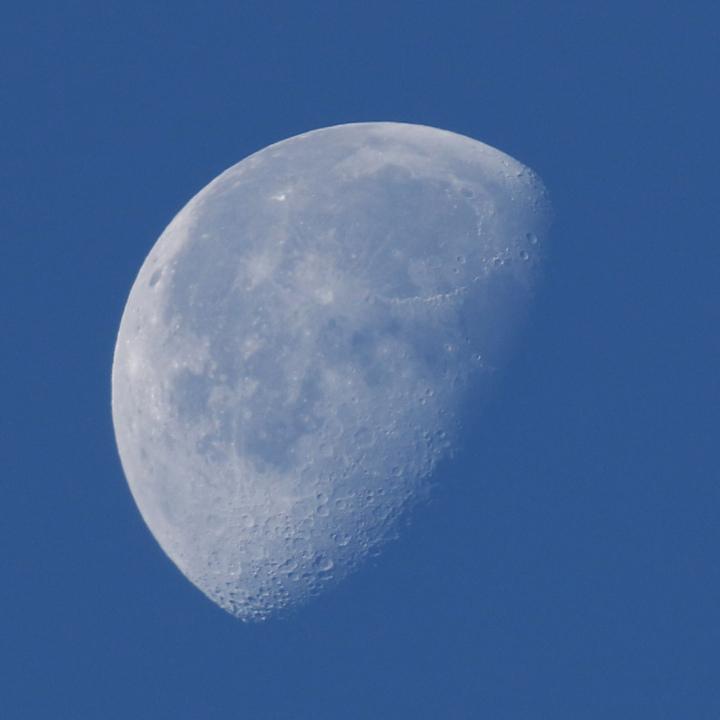 la lune, bleue, au matin du 28/11/2018(52826)