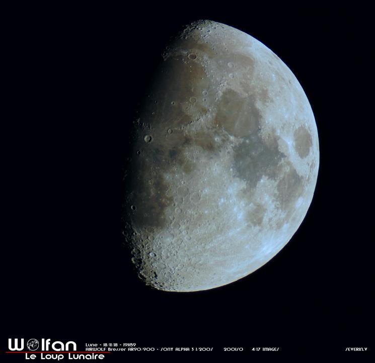 Dernier quartier lunaire 17-11-18
