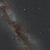 Voie Lactée à Ustaritz (Pays Basque, France)