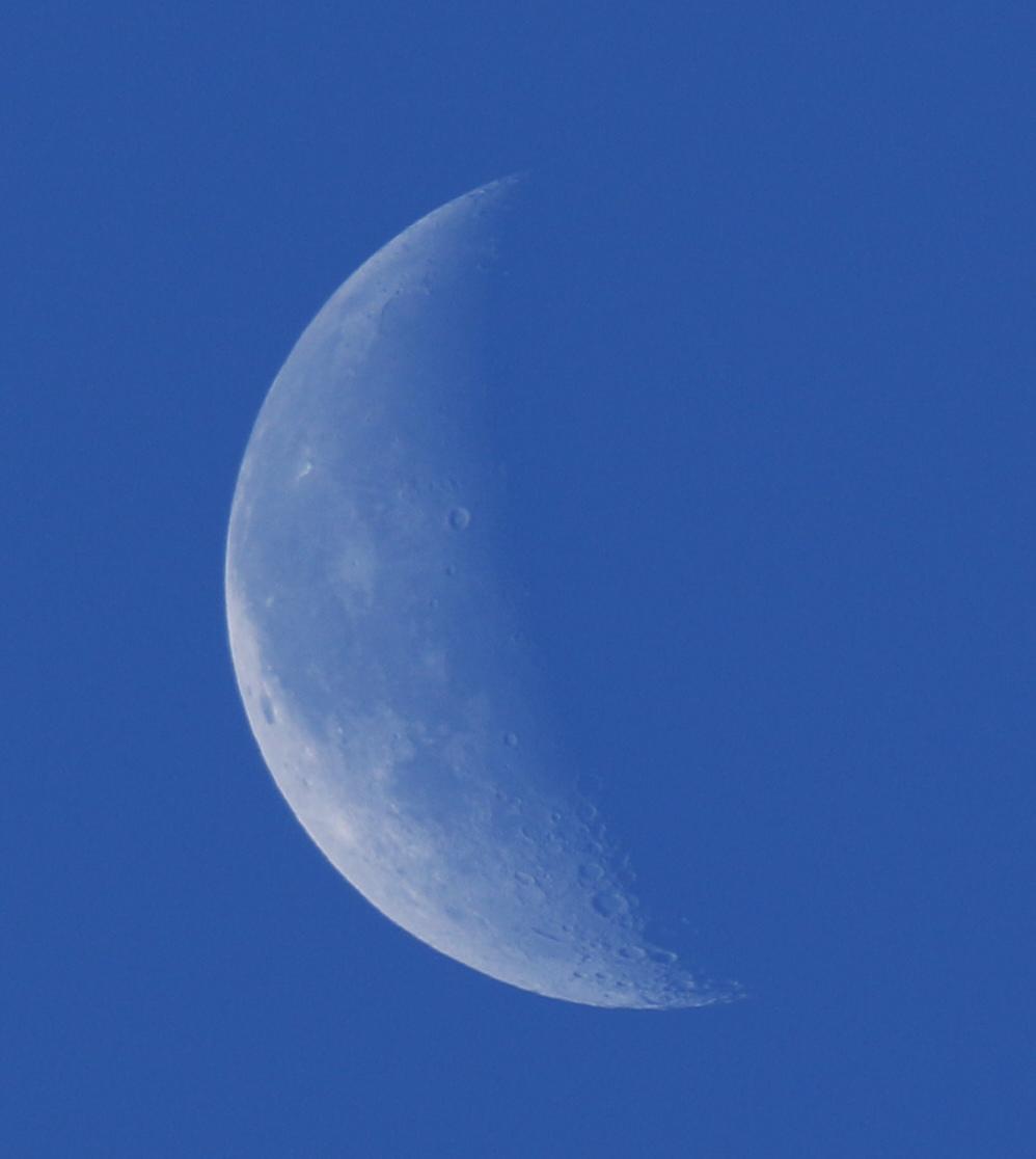 la lune, bleue, et Vénus, au matin du 01/12/2018 (52908/909/923)