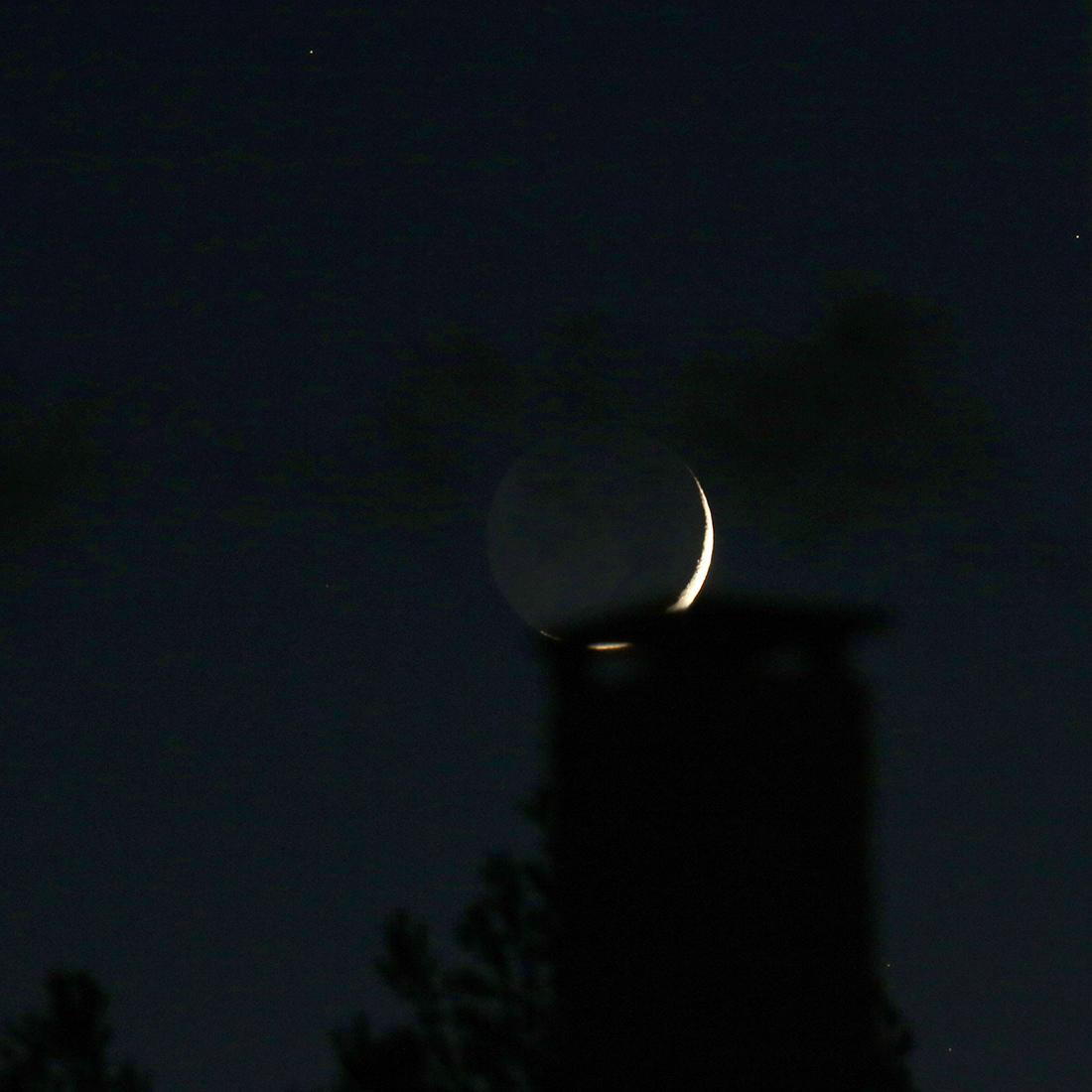 la lune, au soir du 09/12/2018(53427)
