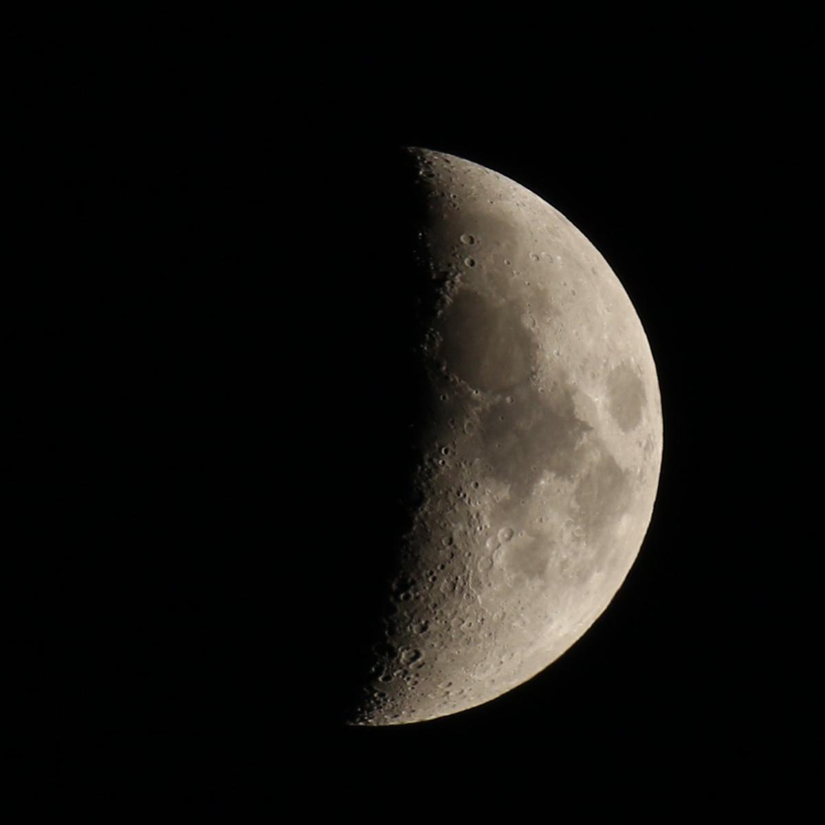 la lune, revenue, au soir du 14/12/2018 (53602)