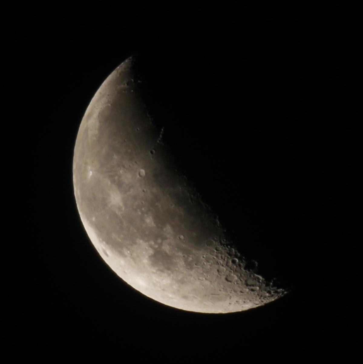 la lune, au matin du 30/12/2018 (54556)