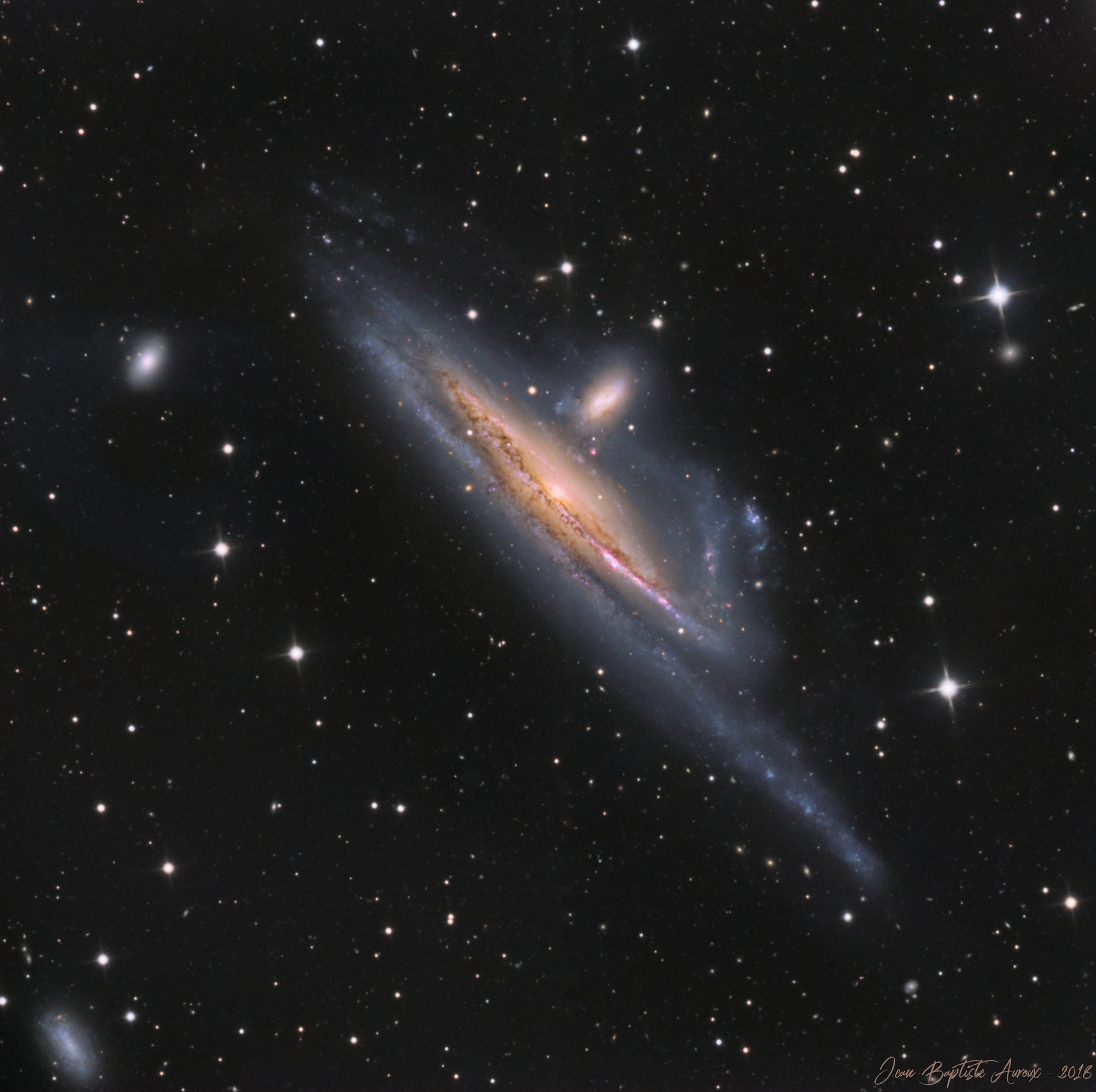 Galaxies NGC1532 & NGC1531
