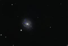 Supernova 2018ivc dans M77