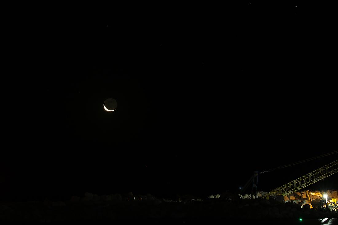 la lune avec conjonction le matin du 03/01/2019 (6D 54928/947/962//7D 55035/043)