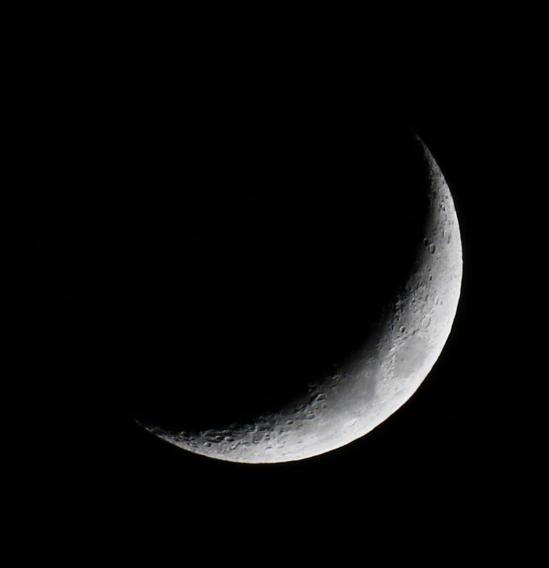 la lune, au soir du 10/01/2019 (55516)