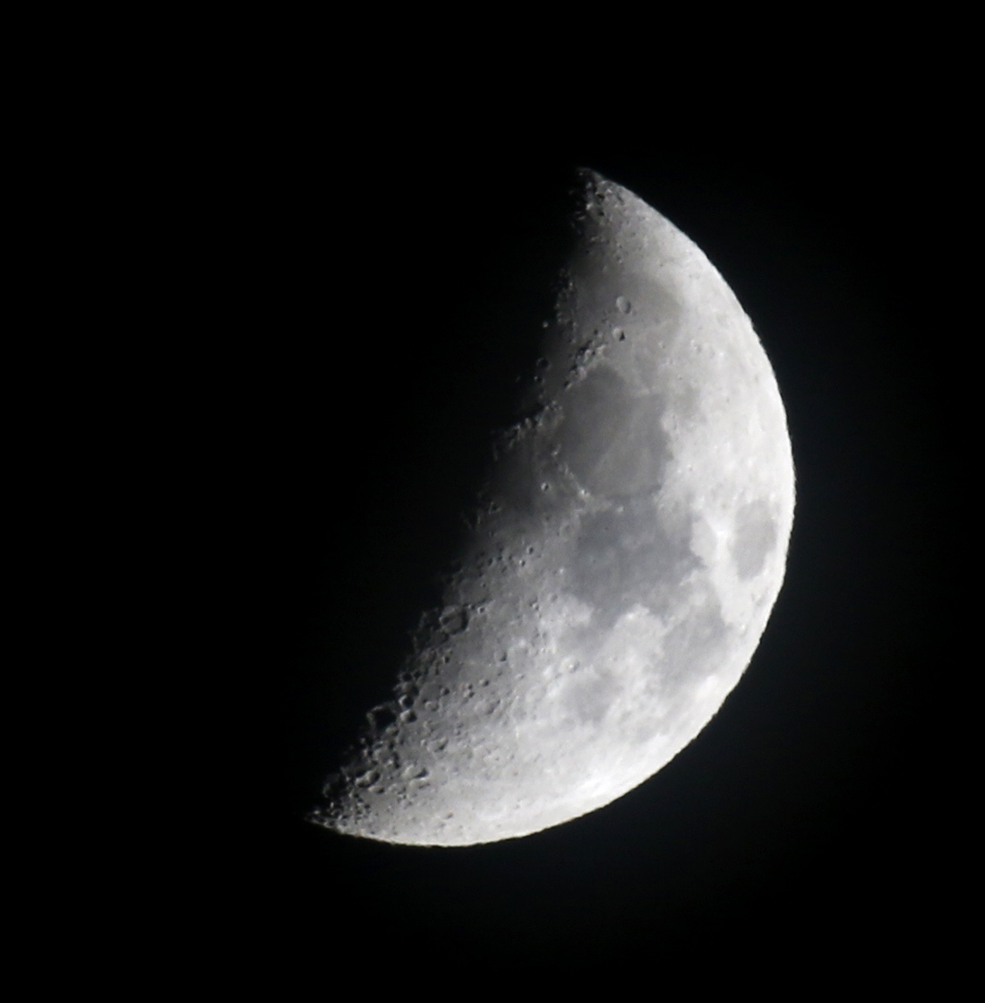 la lune, au soir du 13/01/2019 (55864)