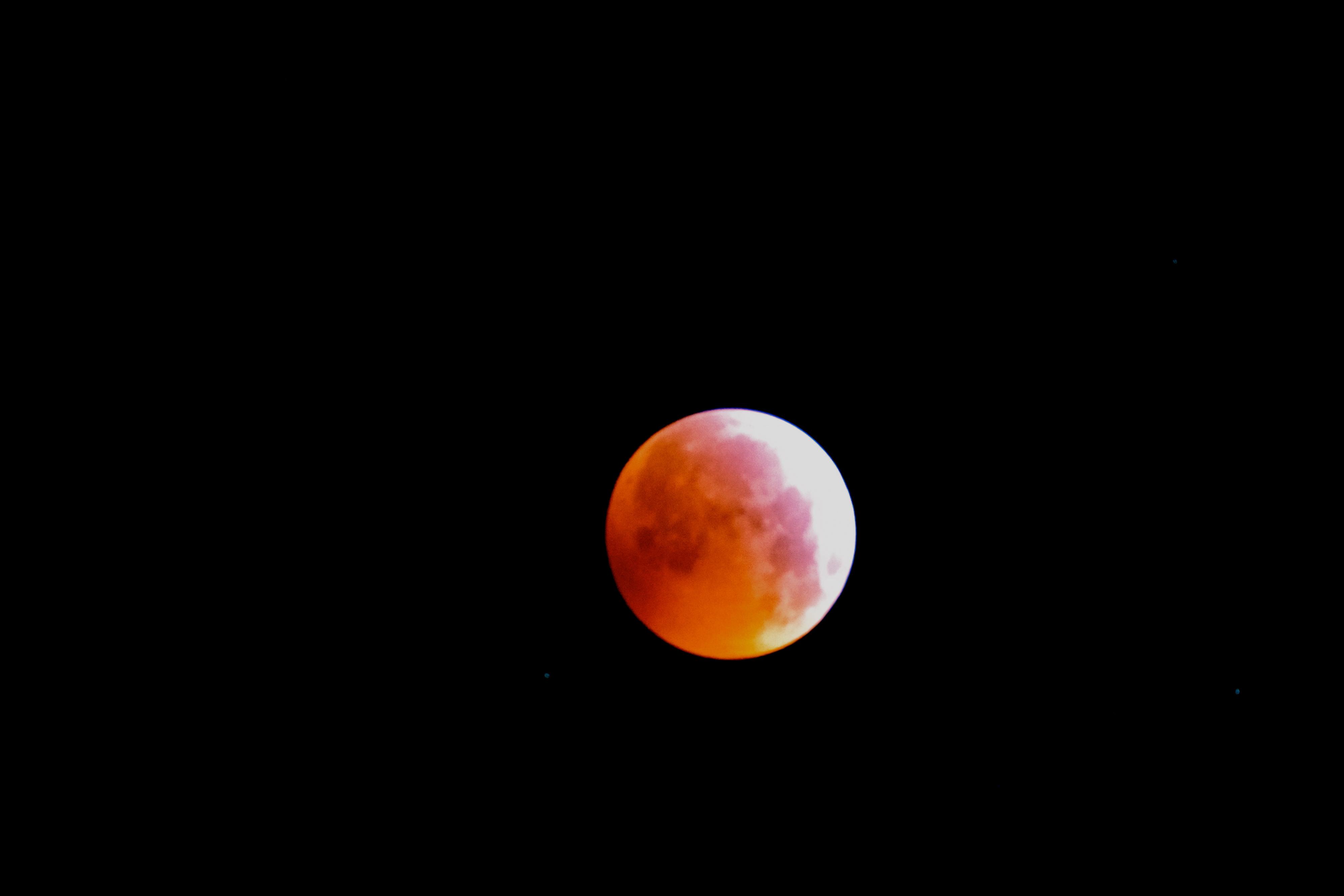 Eclipse de Lune  lundi 21 janvier 2019