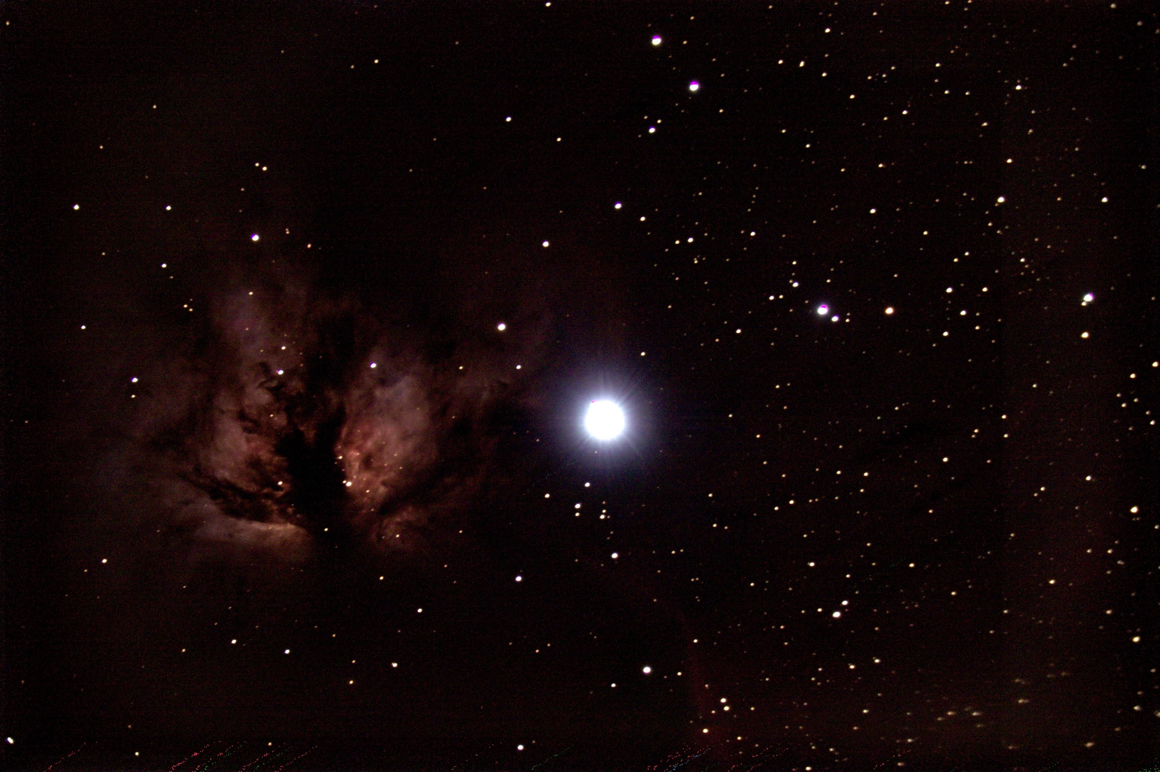 Nébuleuse de la flamme - NGC2024