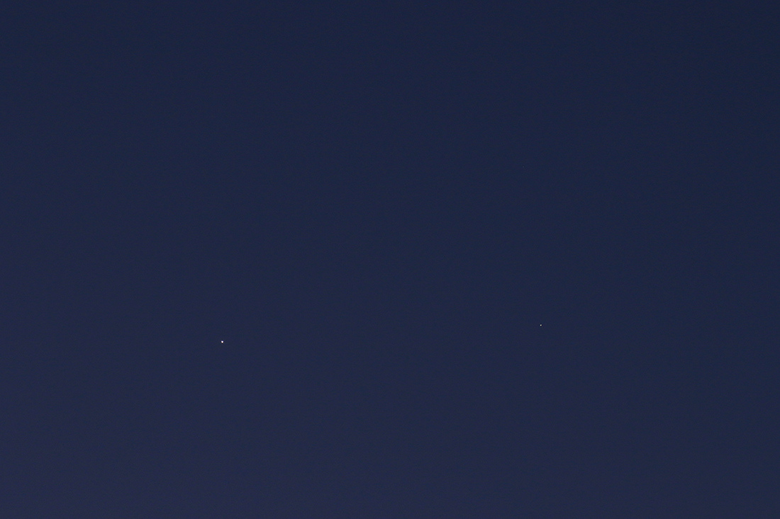 conjonction Vénus/Saturne du 20/02/2019 (59493)