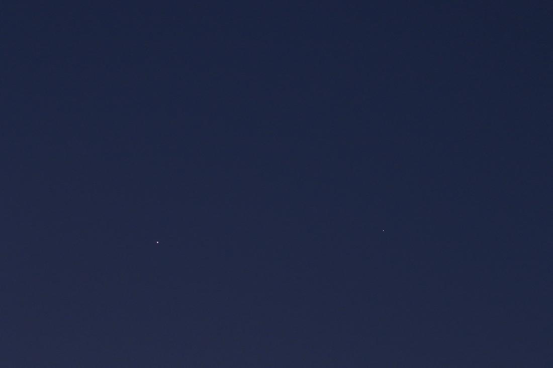 La conjonction Vénus/Saturne du 20/02/2019 (59493)