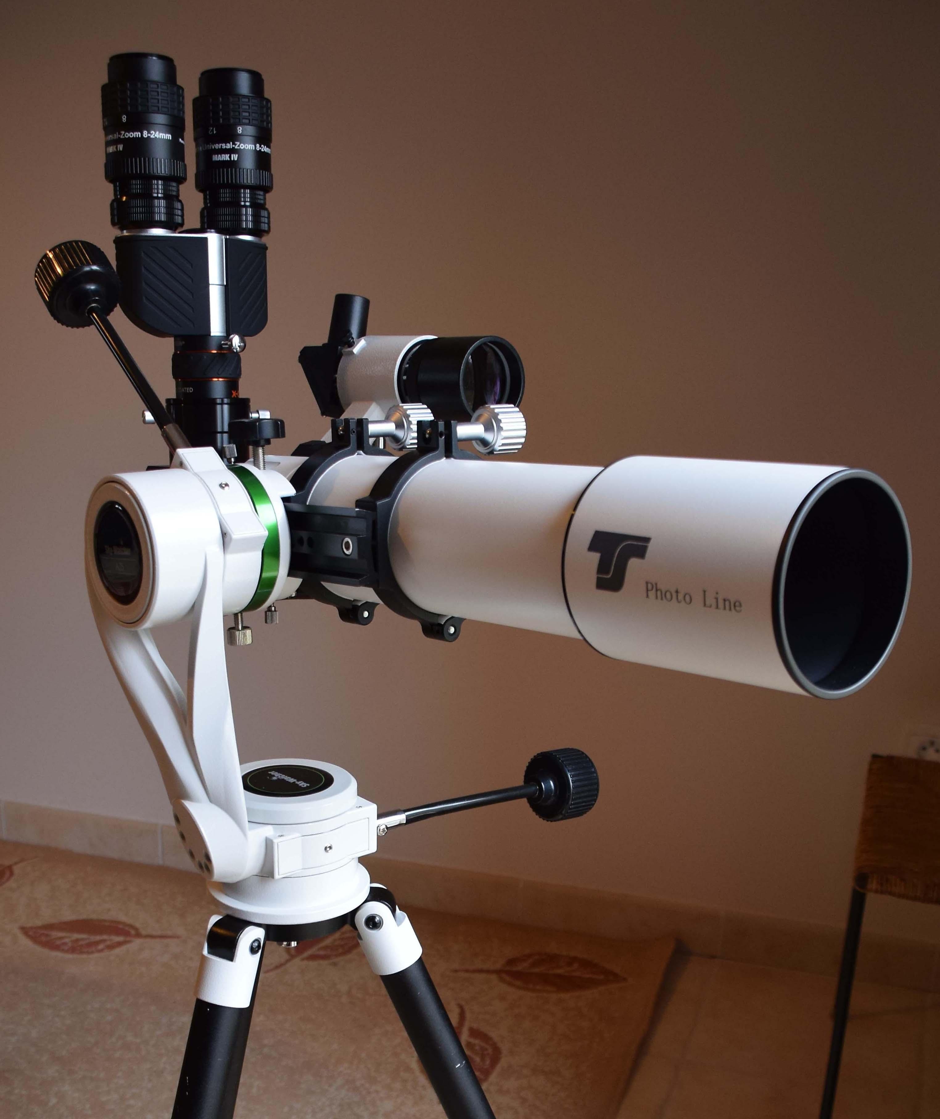 Lunette APO 80  - f 560 Doublet FPL53