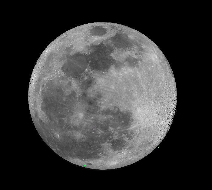 la lune le 18/02/2019 (59276)