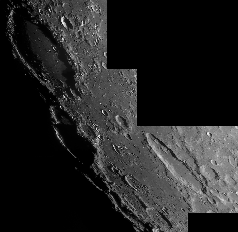 Lune 16/02/219 C14 Barlow 2X Clavé ASI290 : Schiller et Schickard