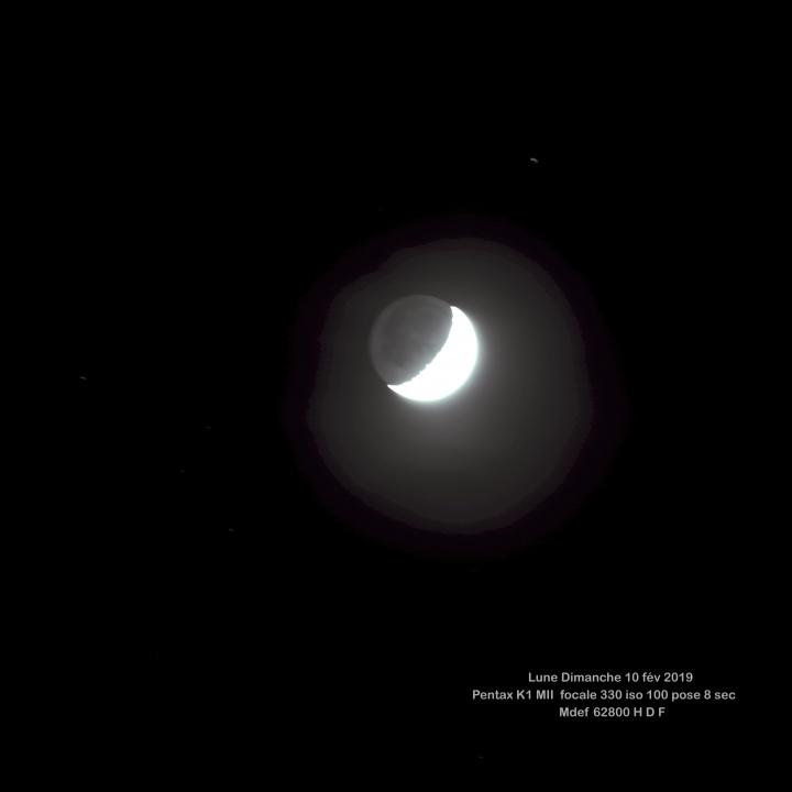 Lune  10 février 2019