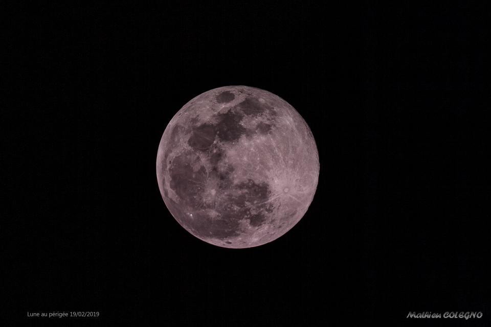 Lune au périgée 19022019