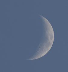la lune le soir du 10/02/2019 (58656)