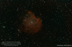 NGC2175 Nébuleuse de la tête de singe