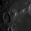 Lune 16/02/2019 C14 barlow 2X Clavé et ASI290 : Gassendi et Mersene