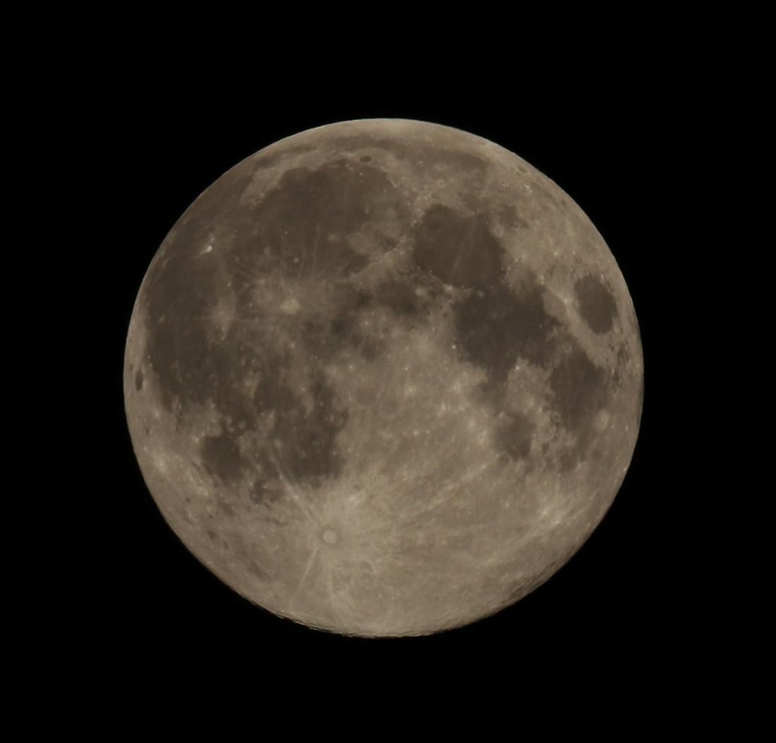 la lune le 21/03/2019 (61477/510/524)