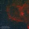 IC1805 Nébuleuse du Cœur