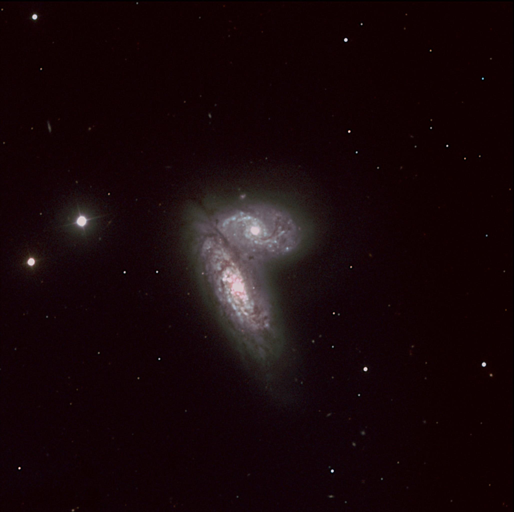 Jumeaux siamois, NGC 4568 et 4567