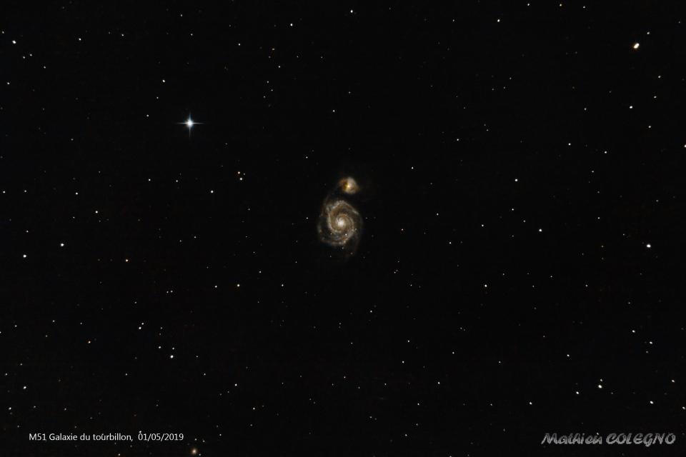 M51 - Galaxie du Tourbillon