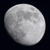 La lune du 15 Mai 2019 à la FC76 Takahashi sur trépied et Nikon D810