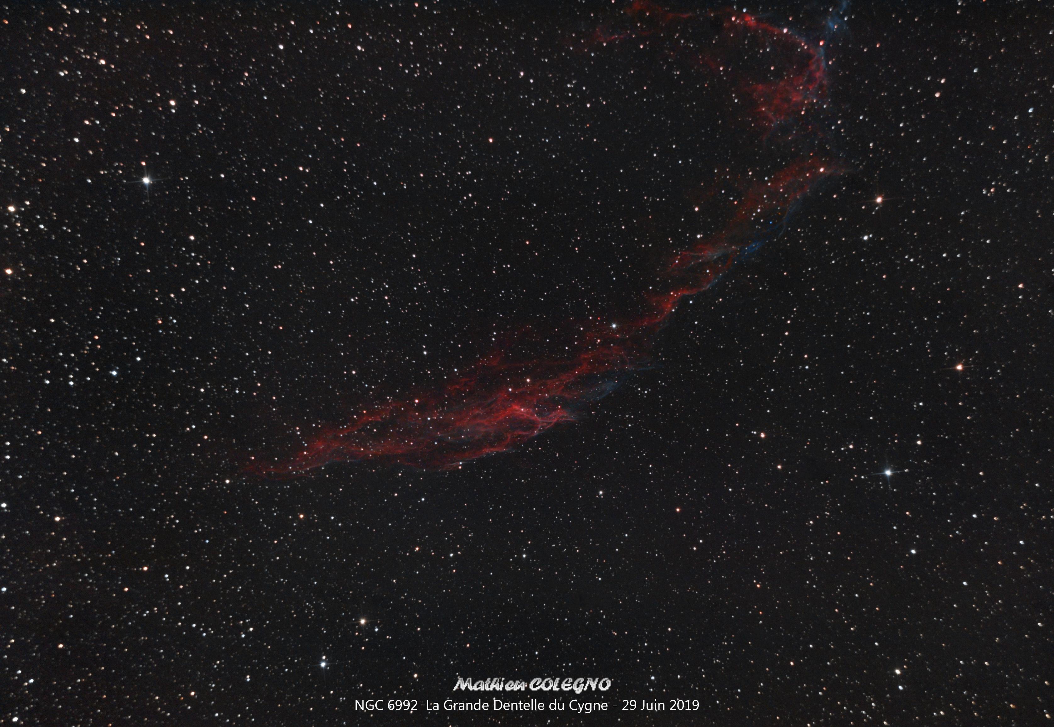 NGC6992 - La Grande Dentelle du Cygne