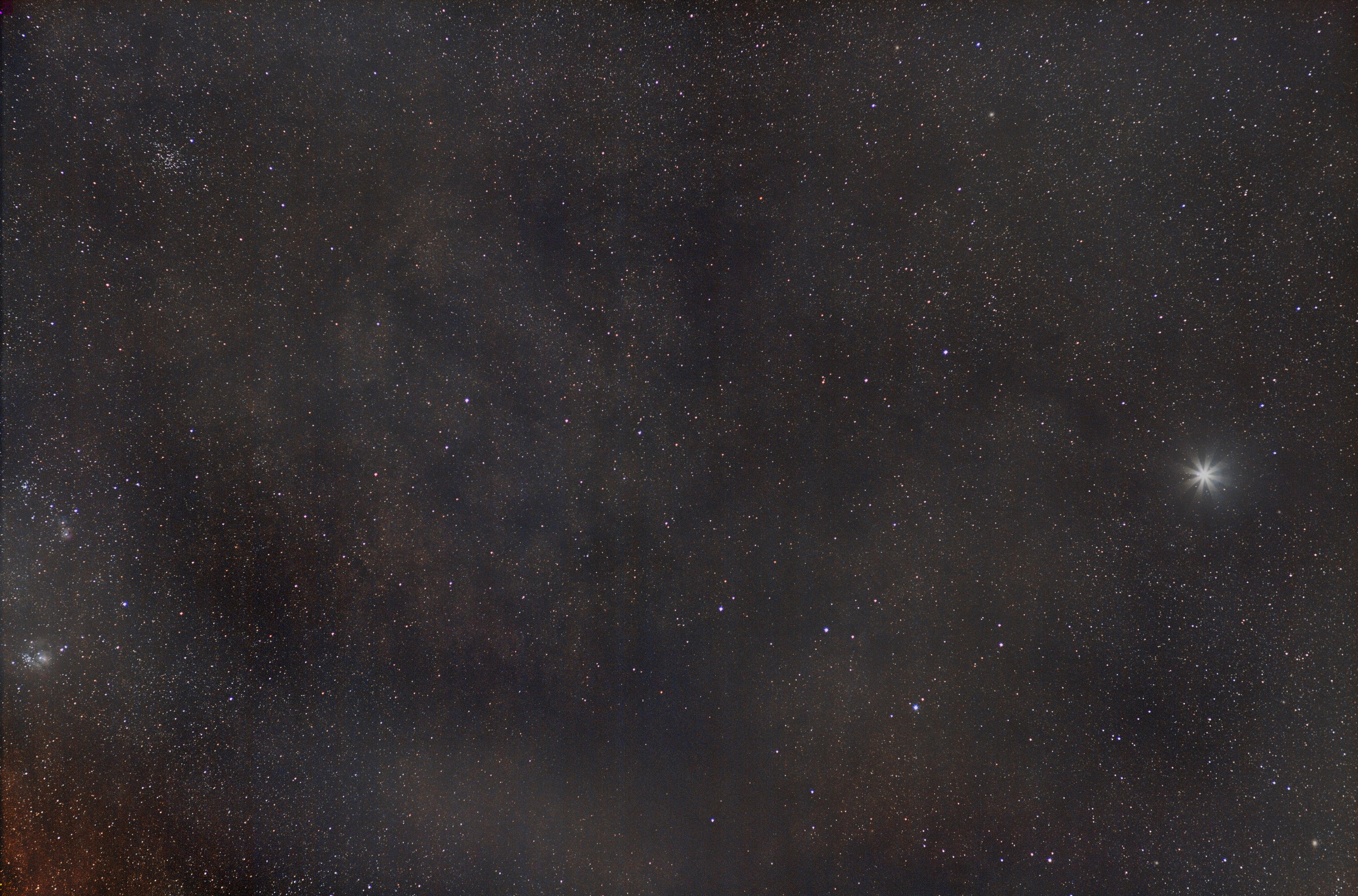 Jupiter et la Voie Lactée