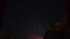 ciel avion et Jupiter