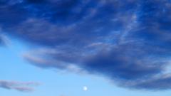 Lune et ciel