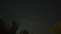Ciel verdâtre + constellation de la flèche