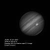 Jupiter 16 juillet   21h01 TU   filtre Méthane