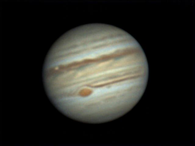 Jupiter et Io 29 juillet 2019 20h36tu