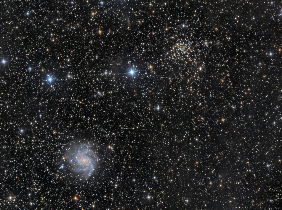 NGC-6946, la galaxie du feu d'artifice