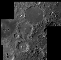 Lune  le 23/07/2019 BASTIA C14 ASI290 Barlow 2X Clave Filtre ROUGE : mozaique Ptolemee Alphonse Arzachel