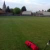 Lunette au terrain de foot