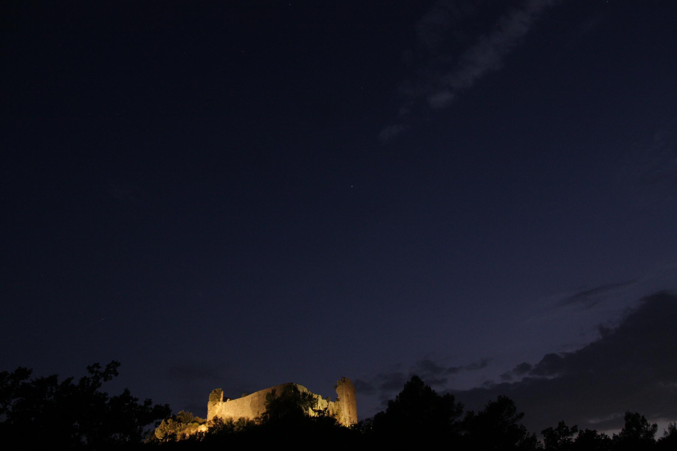 Château de Forcalquier dans le Var