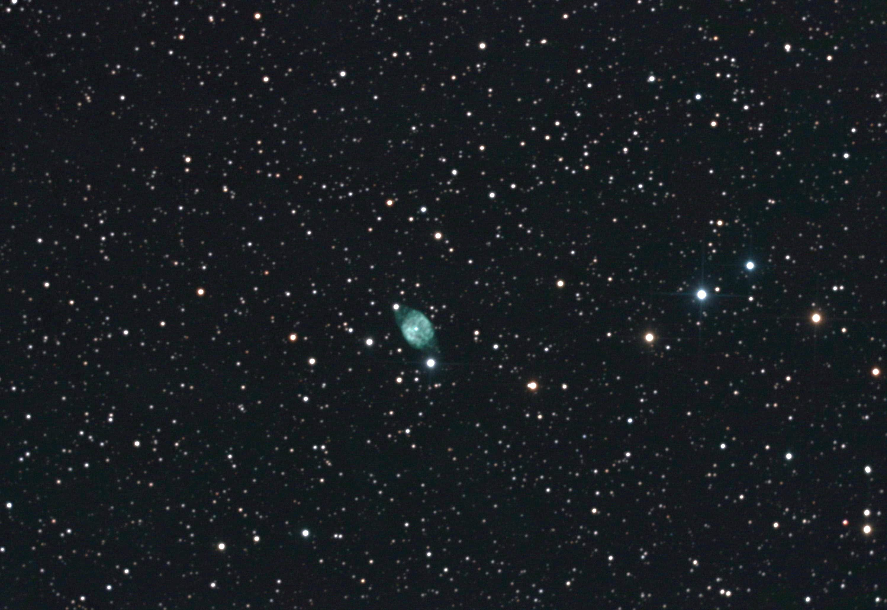 NGC6905 -Blue flash Nebula- Constellation du Dauphin