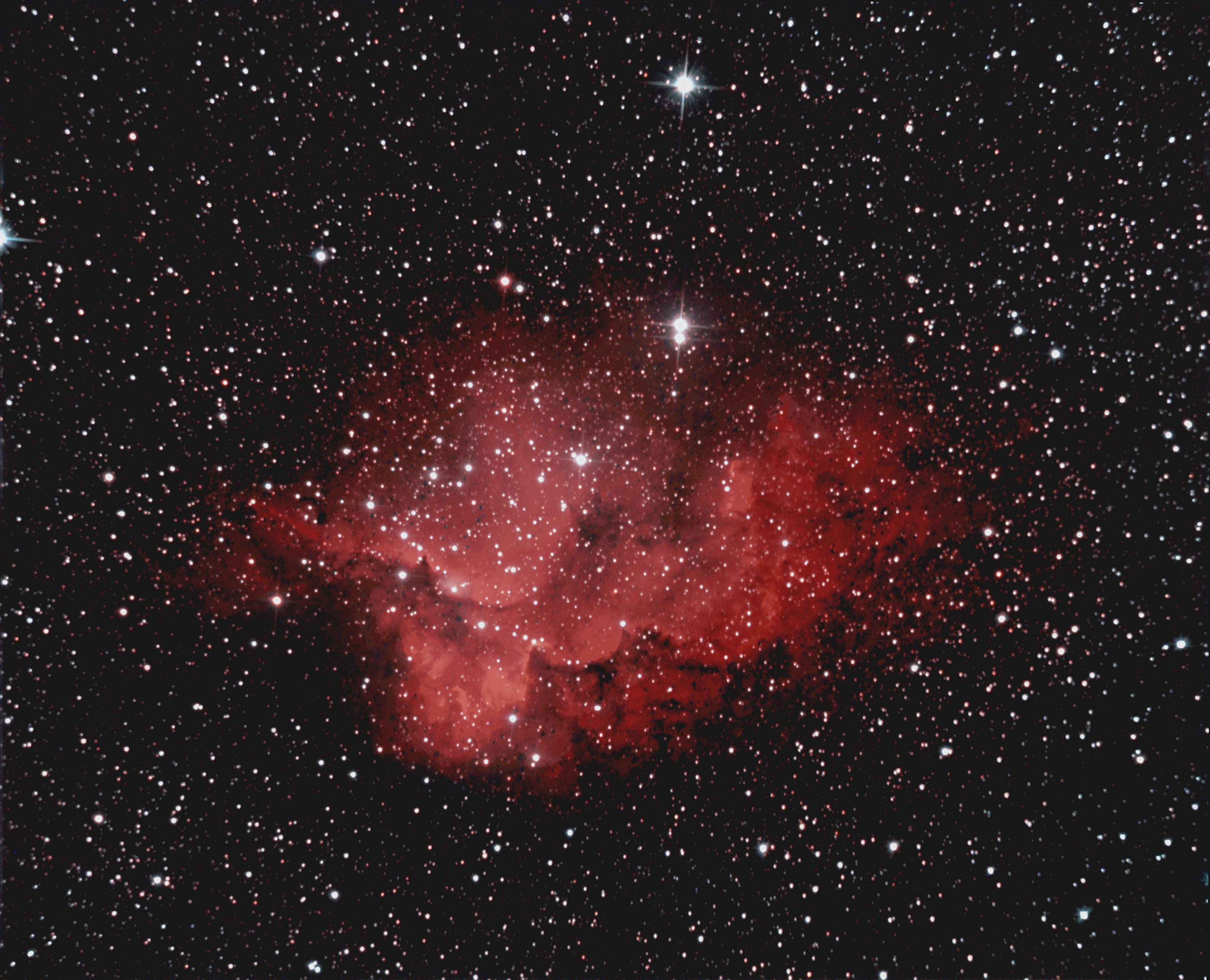 La neuleuse du Sorcier (NGC 7380)