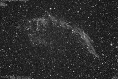 """""""The Eastern Veil Nebula"""" NGC6992, NGC6995 & IC1340"""
